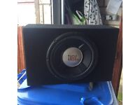 Sub box and amp