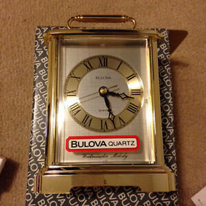 BULOVA - Quartz Hourly Westminster Melody Carriage Clock