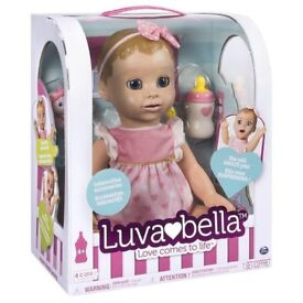 LUVABELLA BLONDE DOLL (Brand New in box)
