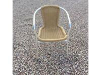 Garden wicker chairs. Commercial quality from Nesbits