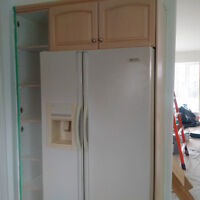 Kitchen Cabinets and Countertops and Appliances.