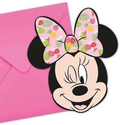 adungskarten, 6er Pck (Tropische Einladungen)