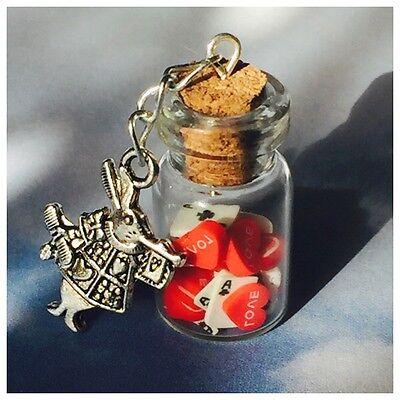 Alice In Wonderland Accessories (Alice In Wonderland Theme Cute Queen Of Hearts Necklace)