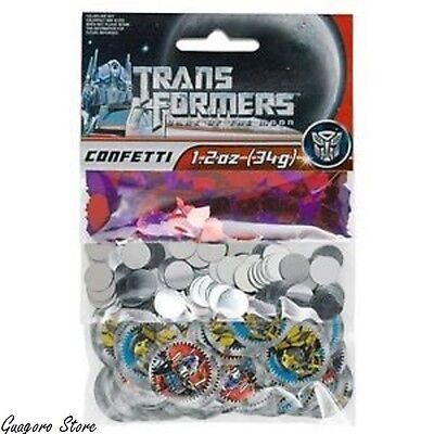 TRANSFORMERS Birthday Confetti Bag Fillers Decorations Party Supplies Favors