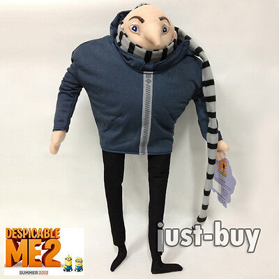 Despicable Me 2 Plush Felonious Gru Papa Soft Toy Stuffed Animal Doll Teddy 15
