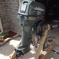 Johnson 40 HP & Honda 7.5 outboards - TWO FOR PRICE OF ONE!!