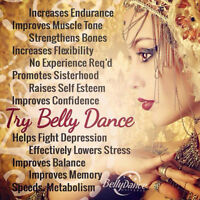 Summer Bellydancing Session with Oksana- for everyone!