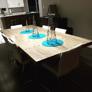 Custom Bowling Alley Table (Harvest Table)