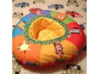 Selection of baby children items bouncer playnest bath seat light pictures cheap