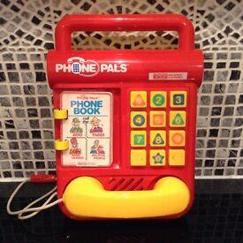 Vtech Phone Pals vintage kids toy