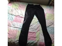 Ice skating thermal bottoms size 28