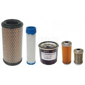 Filter Service Kit for Takeuchi TB108, TB016 & TB014 Mini DiggersExcavators
