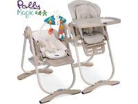 Chicco Polly Magic high chair (Beige)