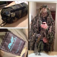 Camoflouge snipper jacket gilly suit