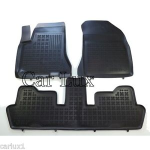 alfombrillas de goma a medida citroen c4 grand picasso desde 2006 tapis sol 3d ebay. Black Bedroom Furniture Sets. Home Design Ideas