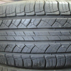 MICHELIN LATTITUDE TOUR 225/65R17 TIRES 90% TREAD