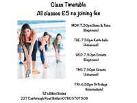 ladies fitness classes