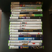 XBOX  - 18 Games (not sold separately)
