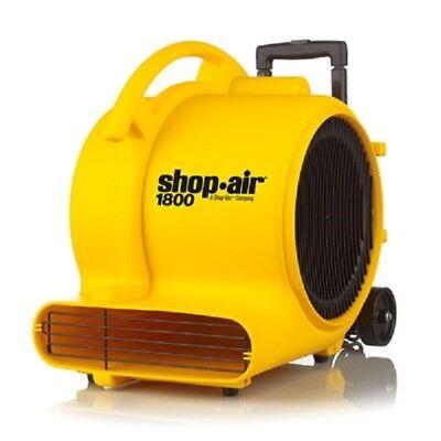 Shop Vac 1030100 Shop Air 1800 Max Cfm Air Mover Dryer