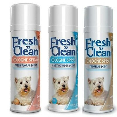 Scented Colognes for Pets 12 oz Keep Your Dog Smelling Fresh 3 Scents To Choose (Fresh Pet Cologne)