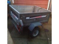 Erde 4x3 lightweight trailer good condition . £145.