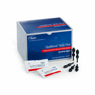 Kerr Optibond Solo Plus Bonding Agent Single Component Totaletch 100 Unidoses