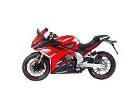 NEW LEXMOTO LXR380 SPORTS BIKE WITH FREE PERFORMANCE PACK -FINANCE AVAILABLE 2 YEARS WARRANTY