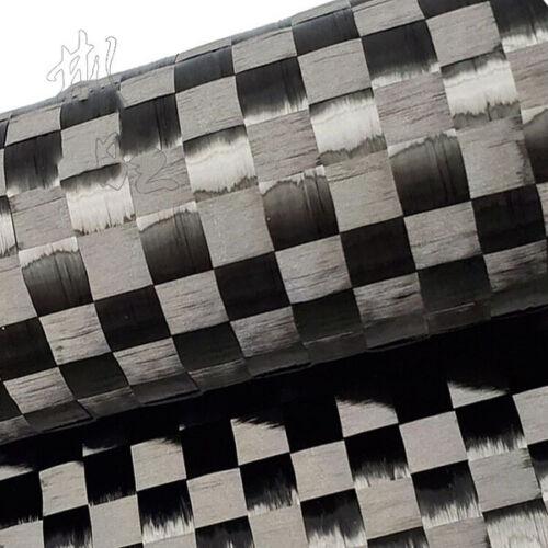 12K 200G Ultra-thin Carbon Fiber Fabric Cloth Plain Weave Carbon Cloth 150*50cm