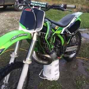 01 kx250 in need of a rebulid trade for cr 99 and up