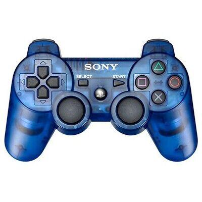 Używany, PS3 orig DualShock 3 Wireless Pad blau-transp / Cosmic Blue [Sony] (Top Zustand) na sprzedaż  Wysyłka do Poland
