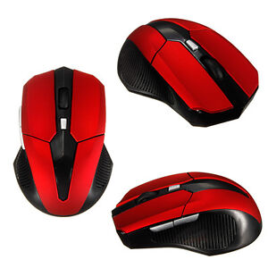 2.4GHz Wireless 6 Button Optical USB 2.0 Mouse