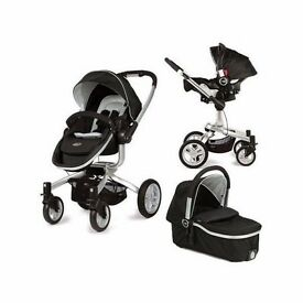Gracco Symbio Go, full travel system PLUS car seat base
