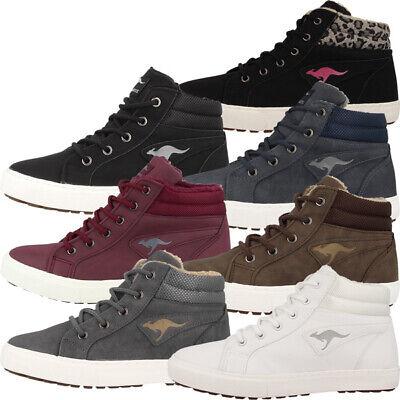 KangaROOS KaVu I Schuhe Kinder High Top Sneaker Turnschuhe Lenoxx Barry Kamlo