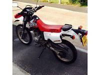 Honda XLR 125cc road legal motorcross style. 24k miles