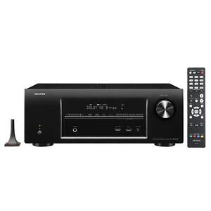 Denon AVR-E400 Integrated Network AV Surround Receiver with Airplay (Black)
