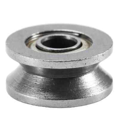 3mm Bore Bearing With 12mm Shielded Pulley V Groove Track Roller Bearing 3x12x4