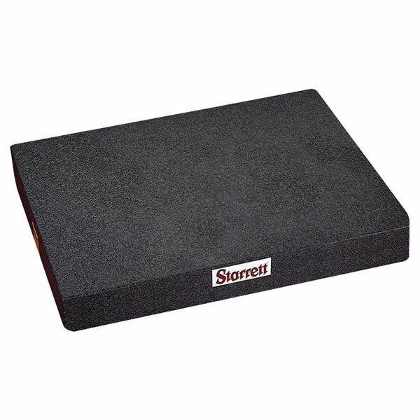 "Starrett 81802 8"" x 12"" Black Granite Toolmaker"