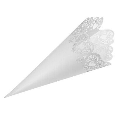 Con Amor conos de confeti-Paquete de 10-para su día de boda por neviti