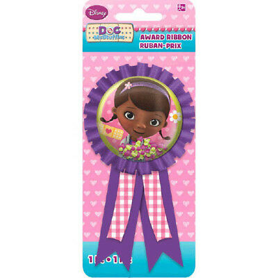 Doc Mcstuffins Ribbon Award Girls Birthday Party Favor Decorations Supplies  ](Doc Mcstuffin Birthday Party)