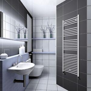 Scaldasalviette bianco dritto radiatore da bagno for Radiatore bagno