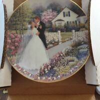 COLLECTORS WEDDING PLATE  new price