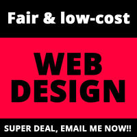 $147 WEBSITE DESIGN FOR first 5 people