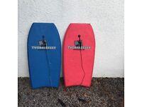 Body board / surf board - in blue