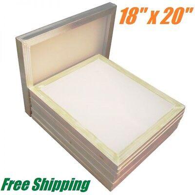 6 Pack Aluminum Frame Silk Screen Printing Screens 18 X 20 110 Mesh Count