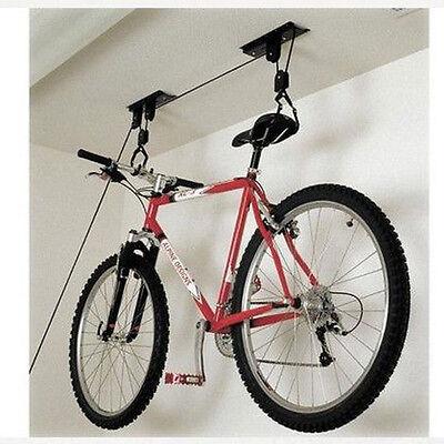 Shed Garage Storage Hoist Pulley System for Bikes, Surfboards, Ladders etc