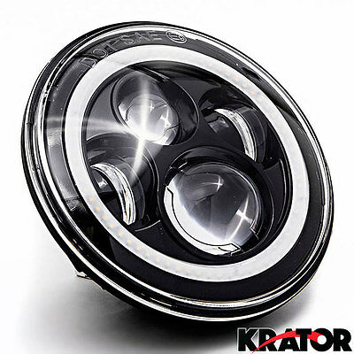 "7""Motorcycle Projector Daymaker Passing For Harley-Davidson Lights LED Headlight"