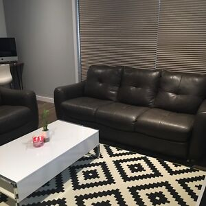 BRAND NEW genuine leather couches