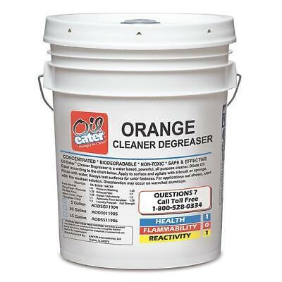 Parts Washer Cleaner Degreaser Orange Scent 5 Gal