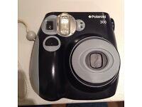 Black Polaroid 300 Instant Camera