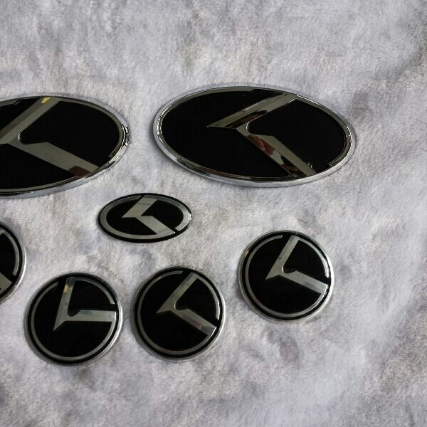 Kia Forte K3 3 Piece K Badge Set